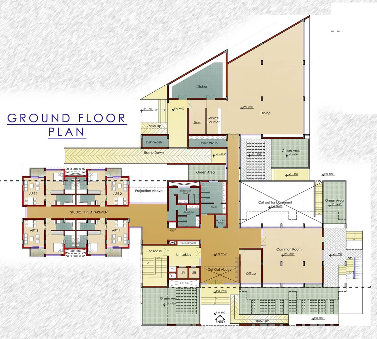 Hostel floor plans design joy studio design gallery for Design my floor plan