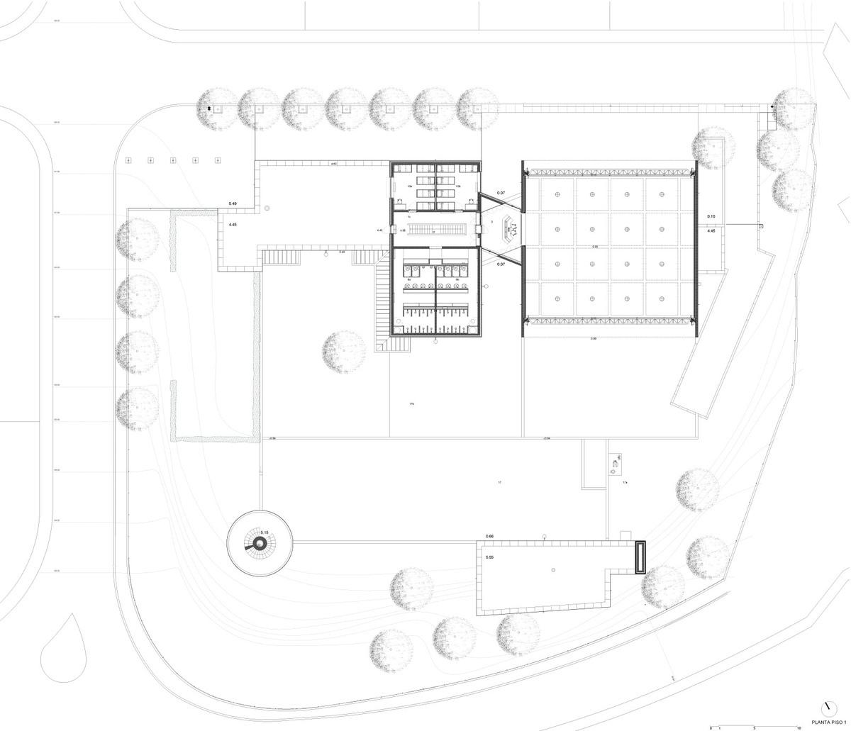 Floor plan 01 (Image: Álvaro Siza Vieira)