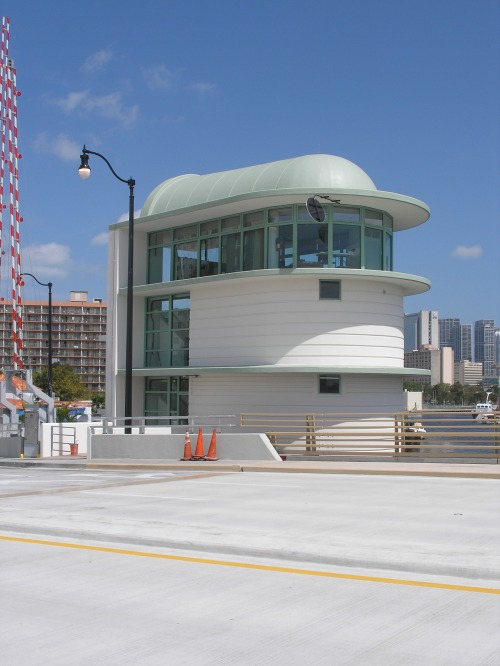 View of the built Control House