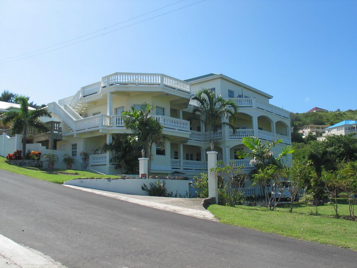 Deon Herbert's Residence Rear View