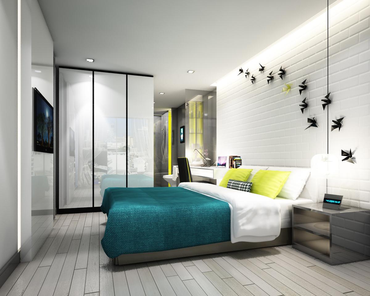 Mock up room B Bedroom