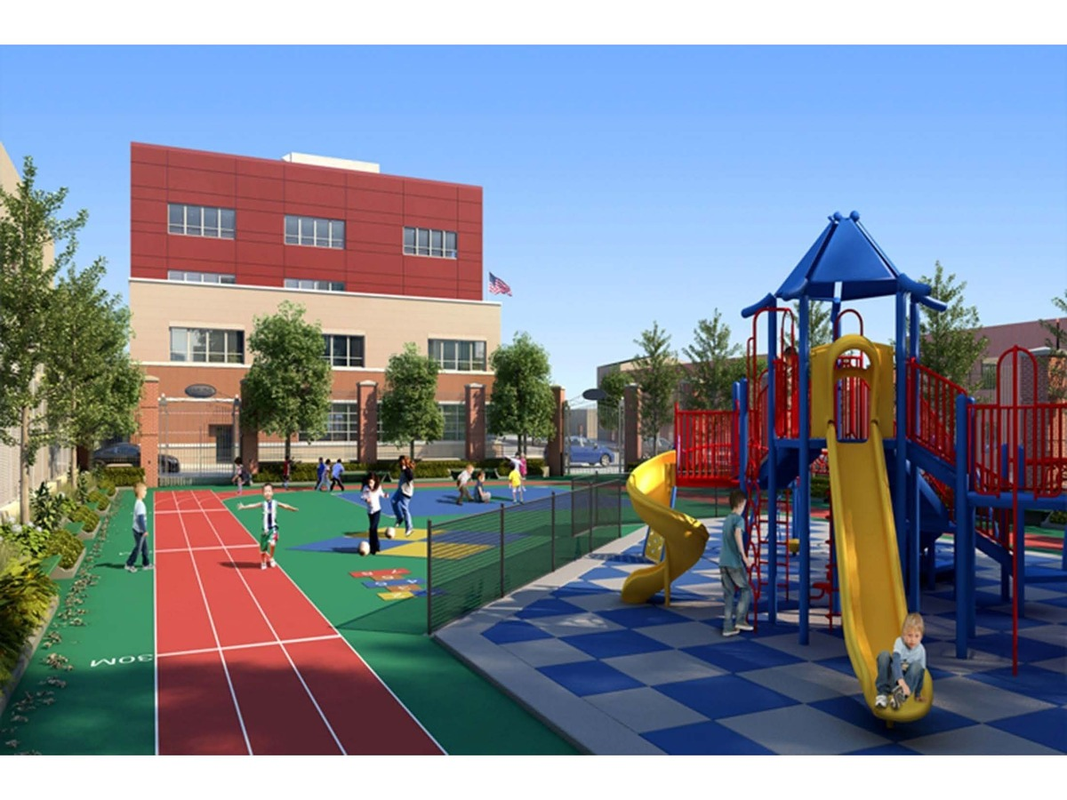 Ps 316 ozone park educational campus design resources for O zone architecture