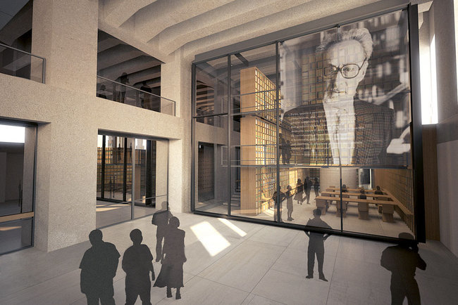Rendering of the future library