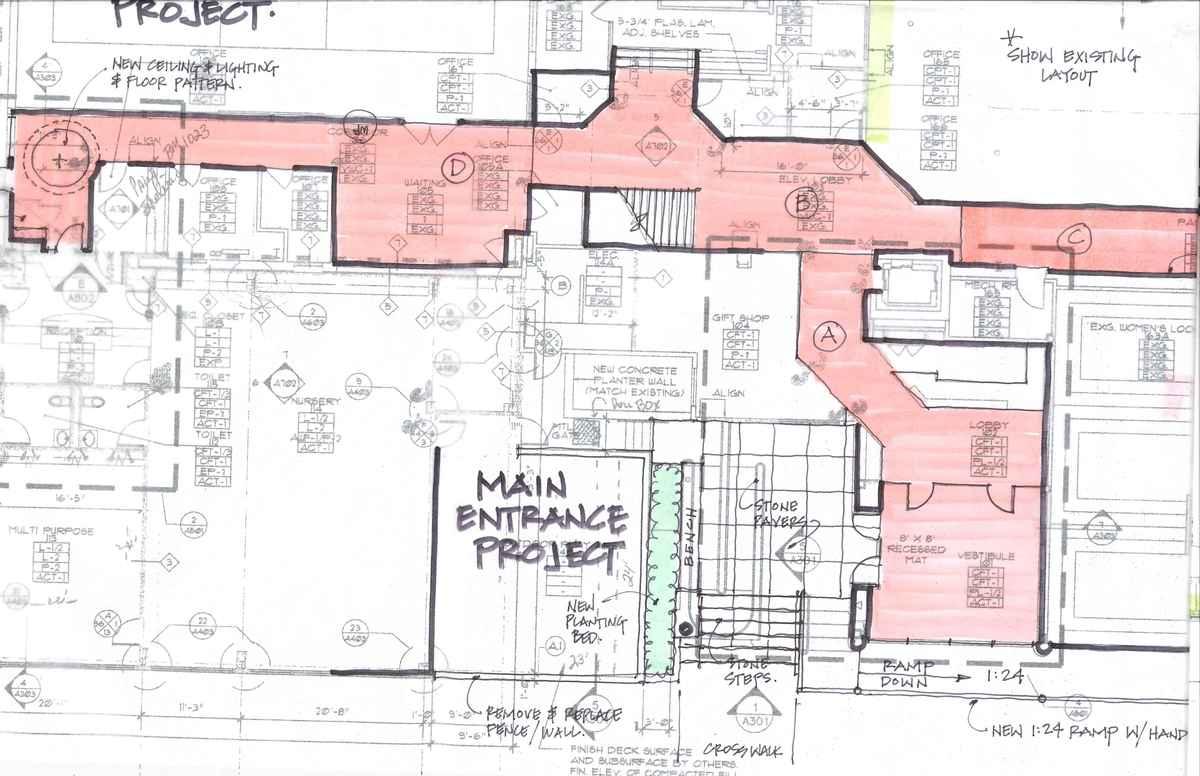 Entry design sketch