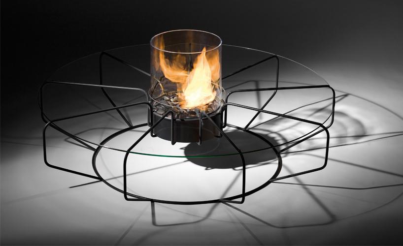 Coffee Fire by Planika, bio fireplace on ethanol