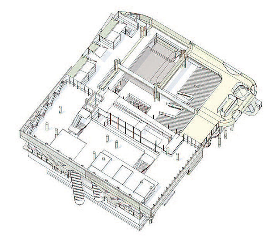 Axonometric at Upper Level