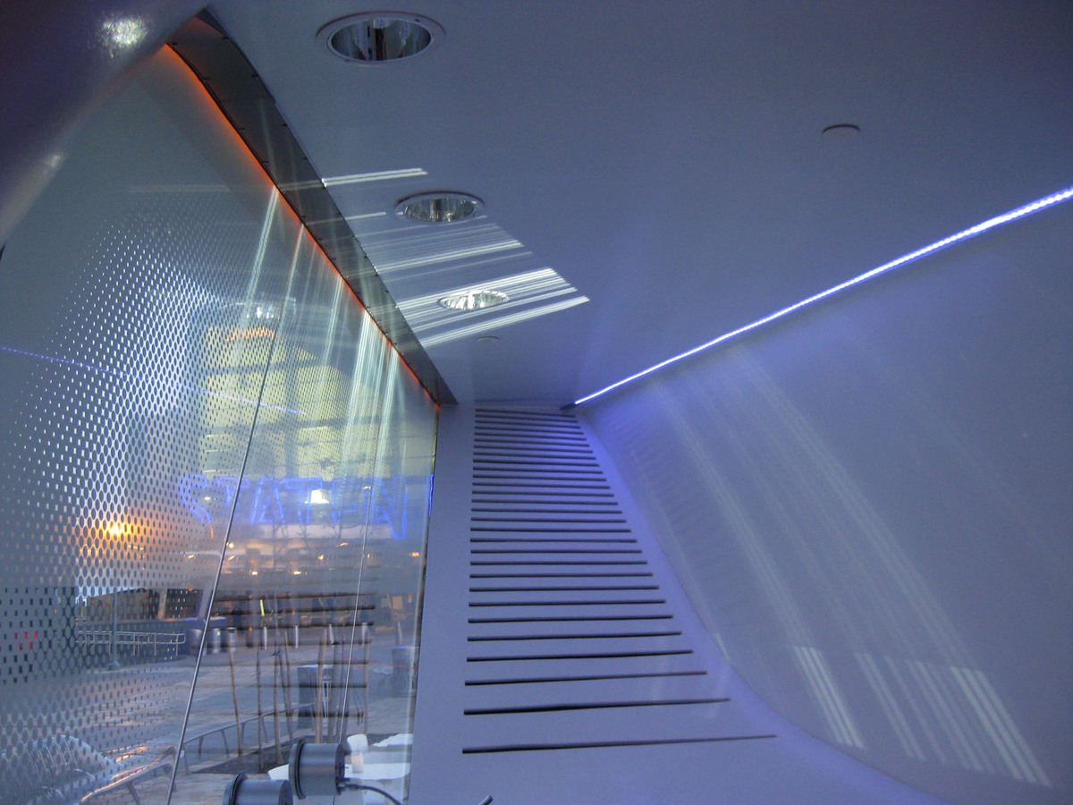 New Amsterdam Pavilion - Interior Image (Image: N. Stanton)