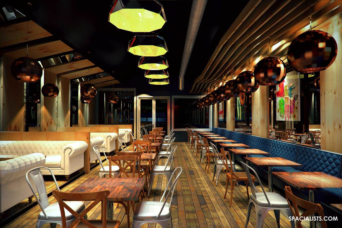 New restaurant design 3d visualization spacialists 3d for New restaurants