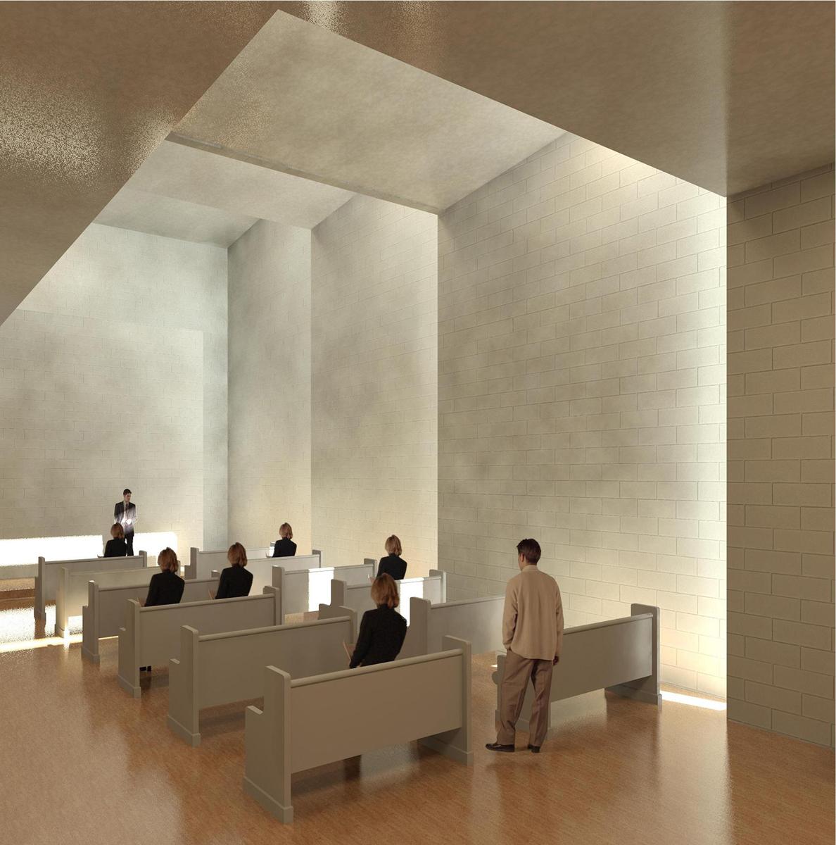 Revit Rendering - Worship Place