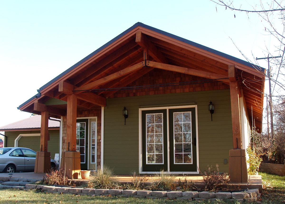Boise residence a modern craftsman home josiah maddock for Modern craftsman