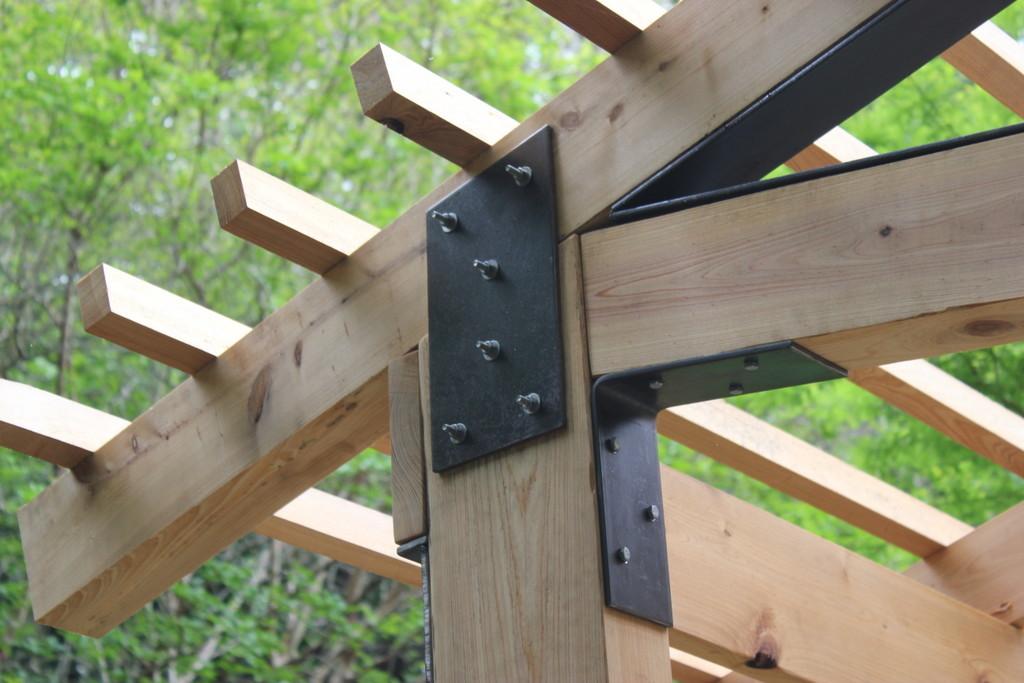 metal pergola brackets 2