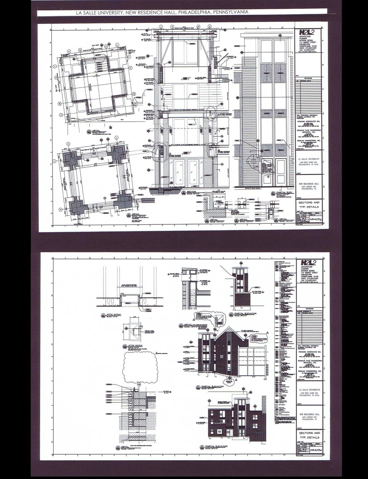 Sections and Details
