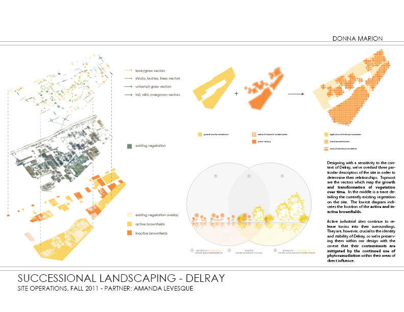 Successional Landscaping - plans and diagrams