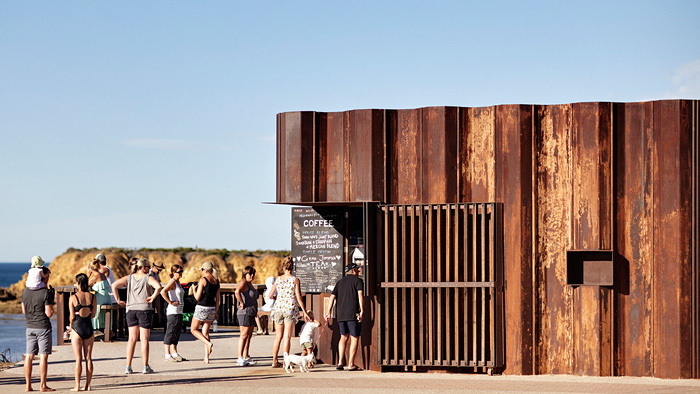 Canteen (UK & International): Third Wave Kiosk (Australia) by Tony Hobba Architects