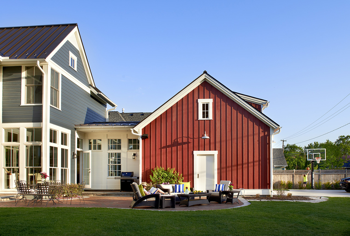 Modern Farm House Charles Vincent George Archinect