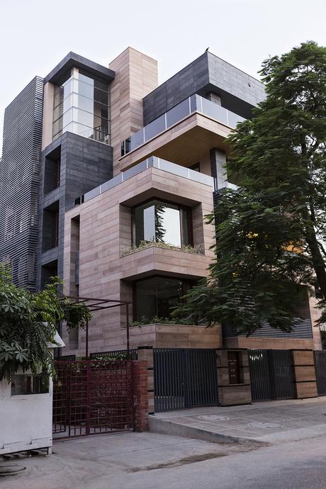 a multi-apartment residence via Amit Khanna