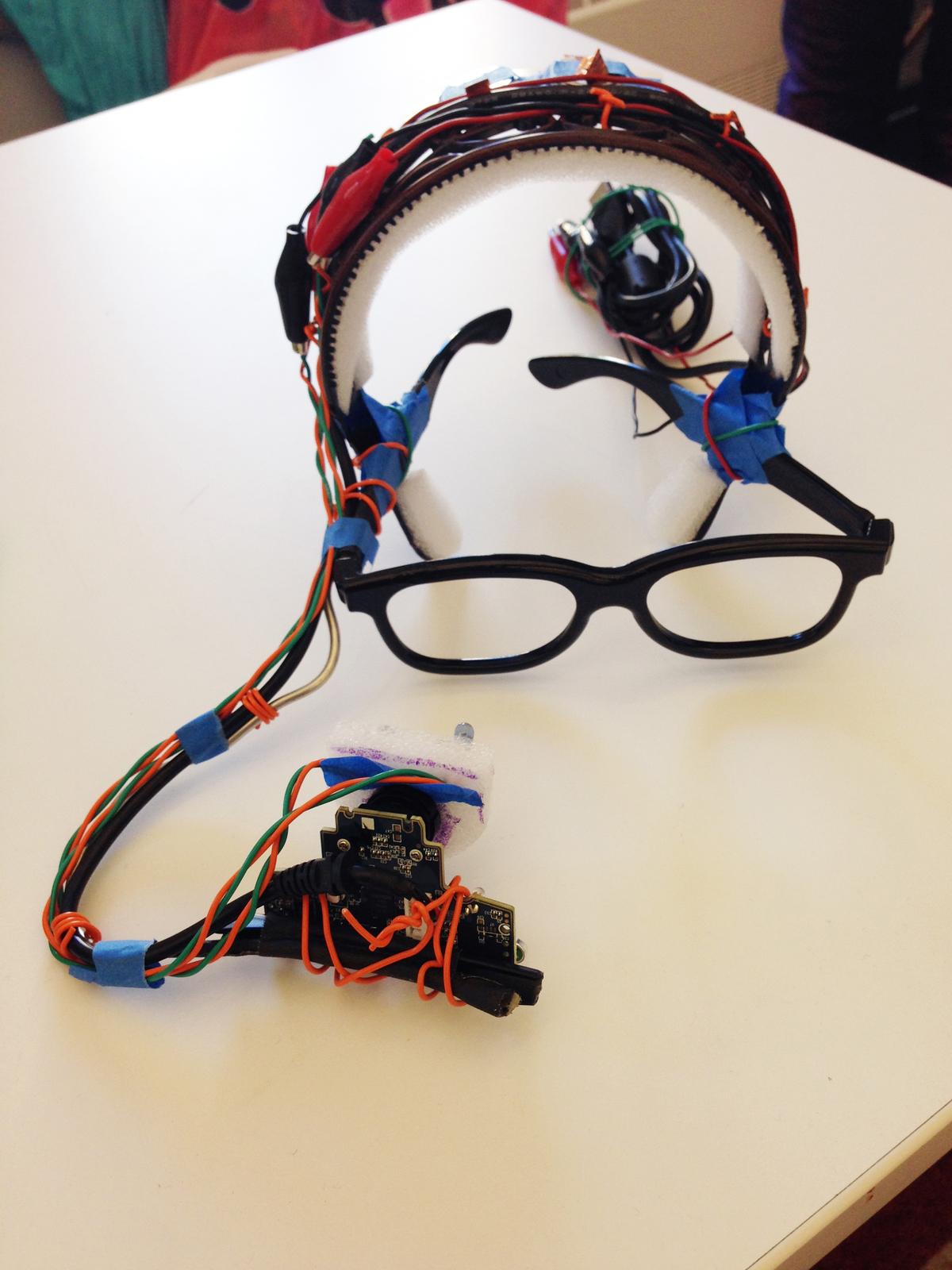 Eye tracker for Eye on Art. Image via Christopher Chafin for The New School.