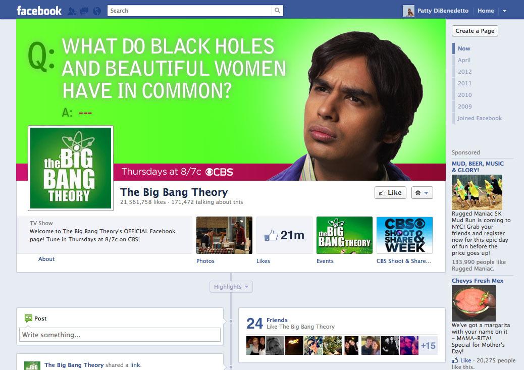 Big Bang Theory Cover Mockup