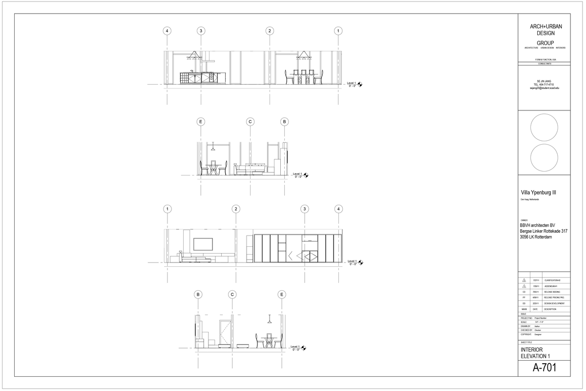 Interior Elevation 1