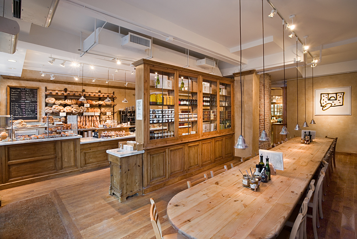 Le Pain Quotidien | Tobin | Parnes Design | Archinect