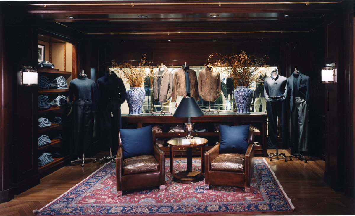 Polo ralph lauren purple label heath grannis archinect for Ralph lauren flagship store nyc