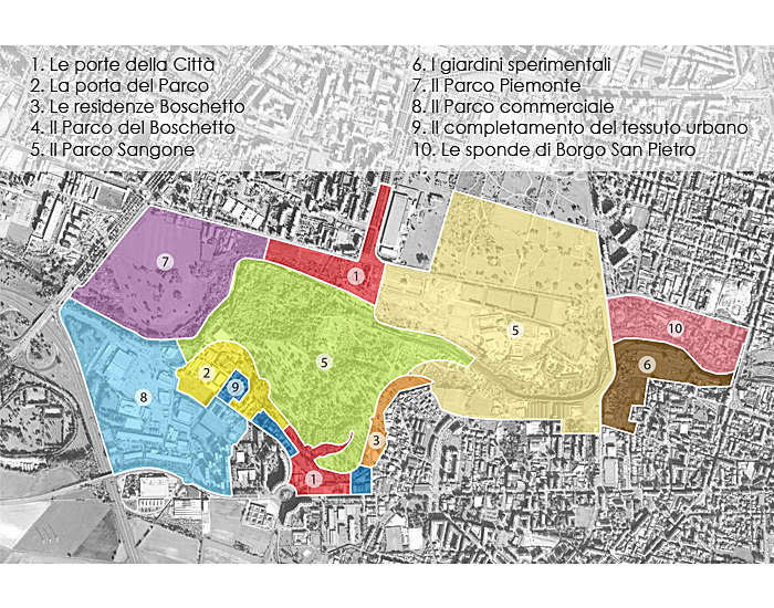 SITE PLAN AREAS SCHEMES