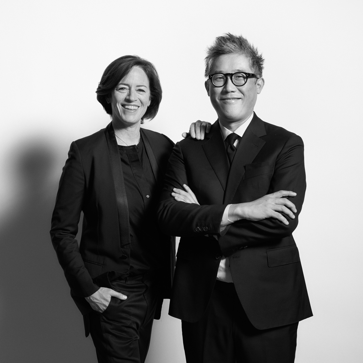 Sharon Johnston and Mark Lee. Image: Eric Staudenmeier via The Chicago Architecture Biennial