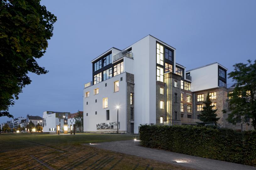 Factory Berlin at night. Credit: Werner Huthmacher