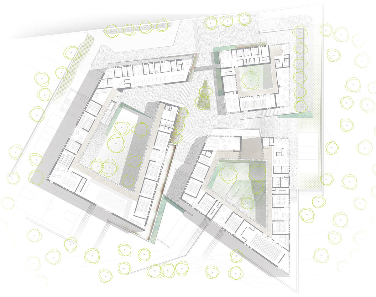 Plan level +1 (Image: Atelier3AM)