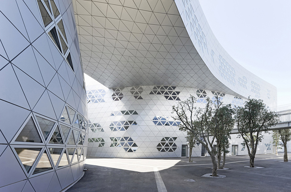 Georges-Freche School of Hotel Management in Montpellier, France by Studio Fuksas