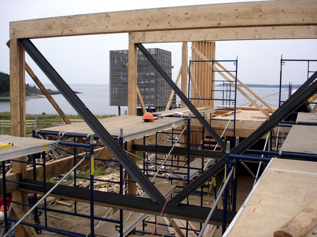 Composite Wood & Steel Frame 1