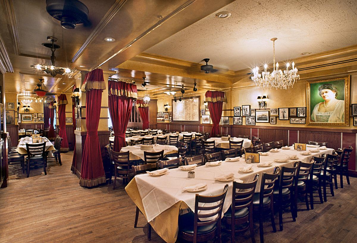 Carmine 39 s restaurant tobin parnes design archinect for Carmines nyc