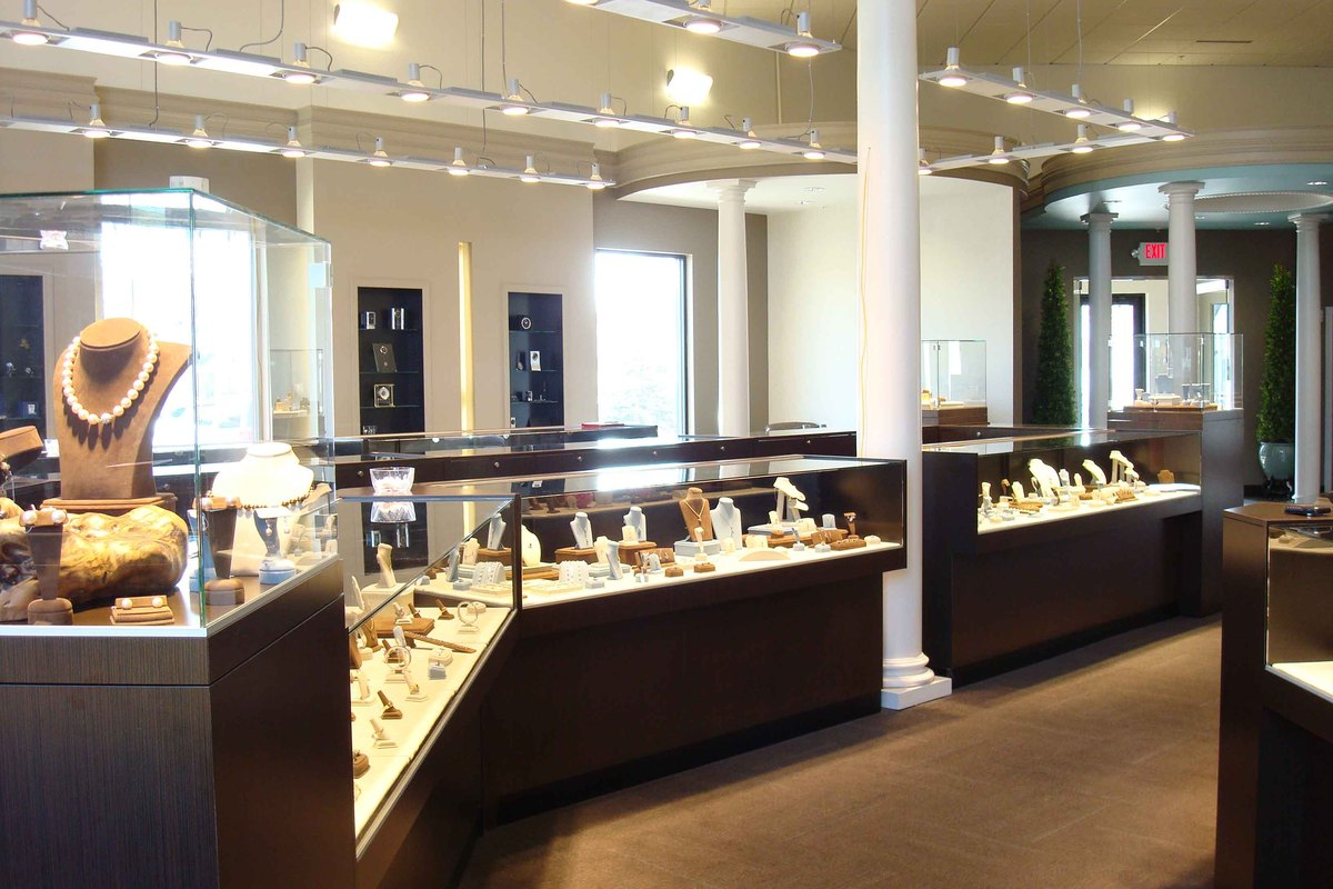 Interior images of jewelry store joy studio design for Jewelry stores in ct