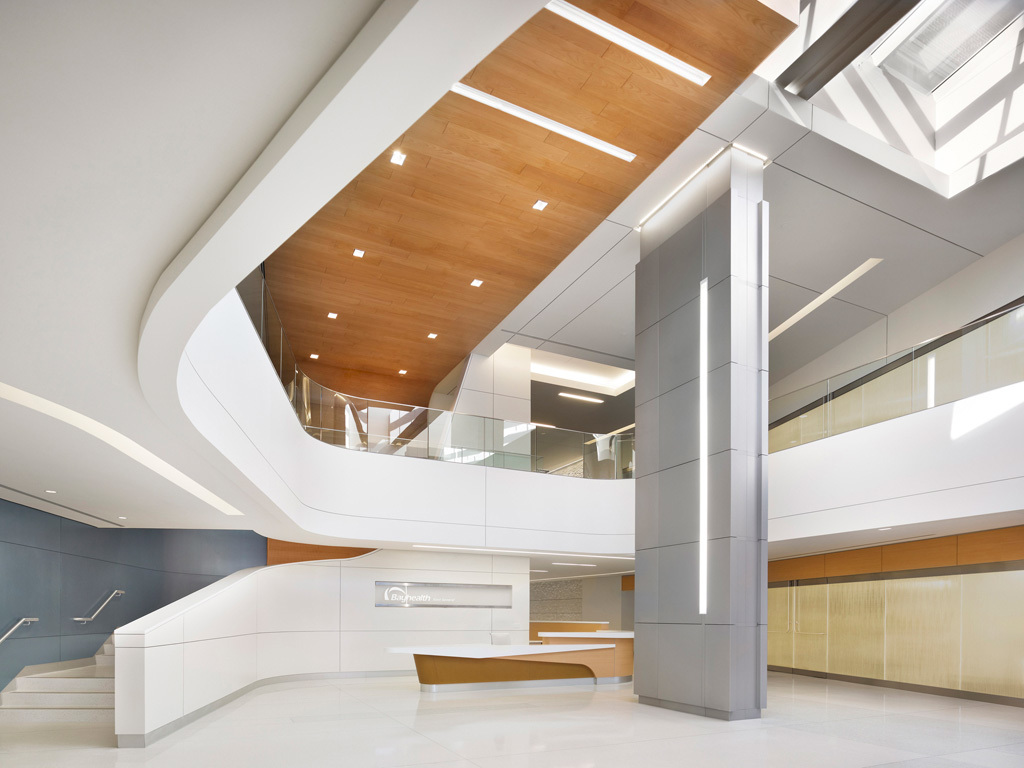 Interiors Merit Award Winner: Bayhealth Medical Center in Dover, DE by EwingCole (Image Credit: Halkin Photography)