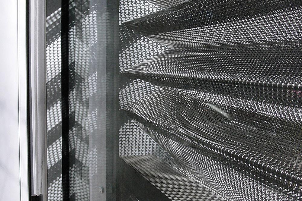 Artist Studio Storefront, Brooklyn, NY; permanent installation (detail); Igor Siddiqui / isssstudio