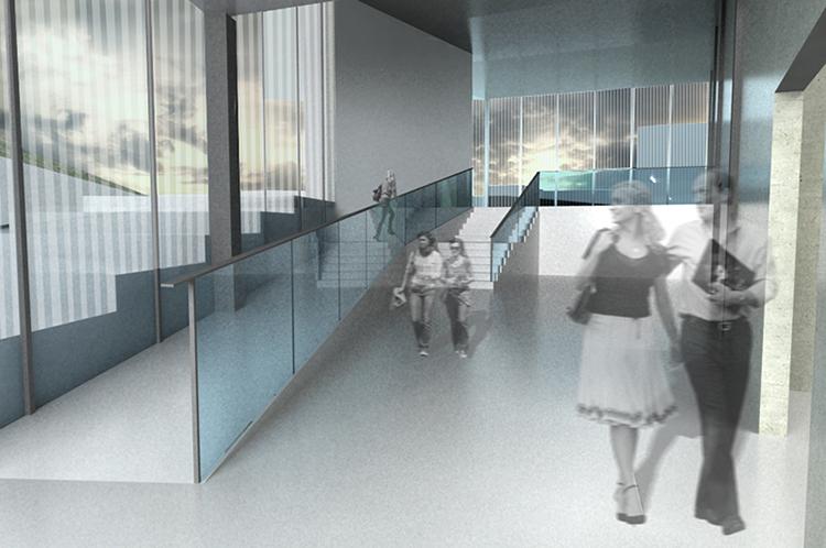 main lobby rendering