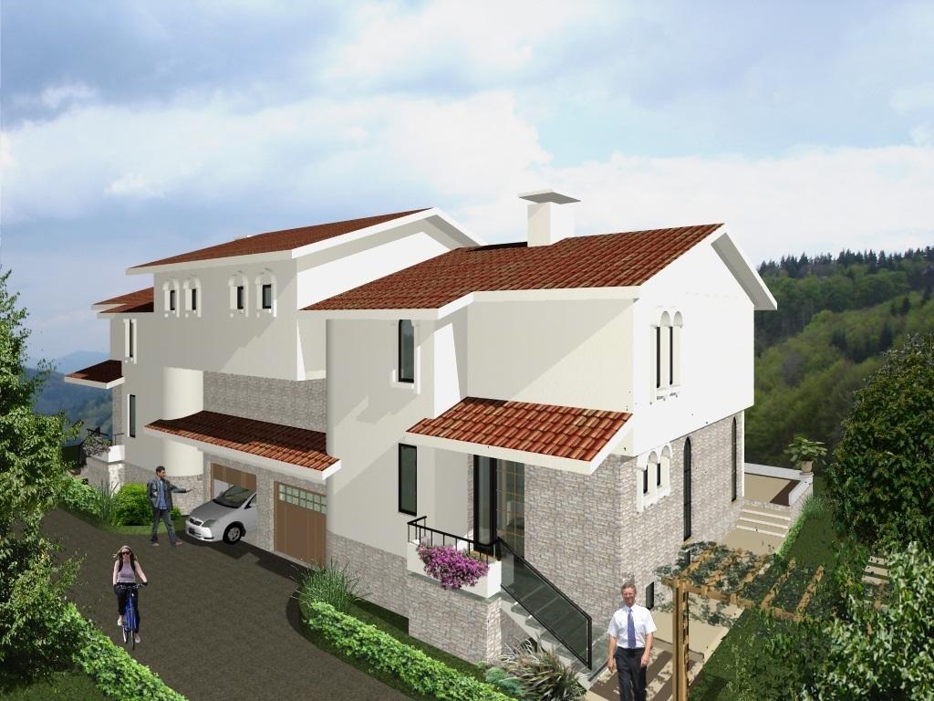 Private House Villa Kalina - visualization