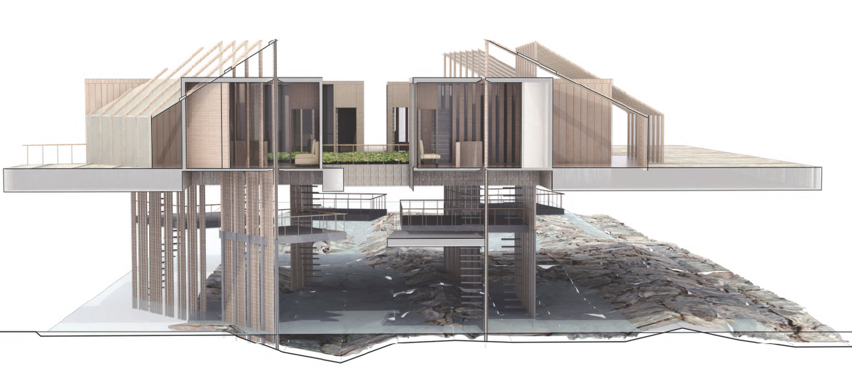 Abraham Chandler and Rebecca Smith, City Deck