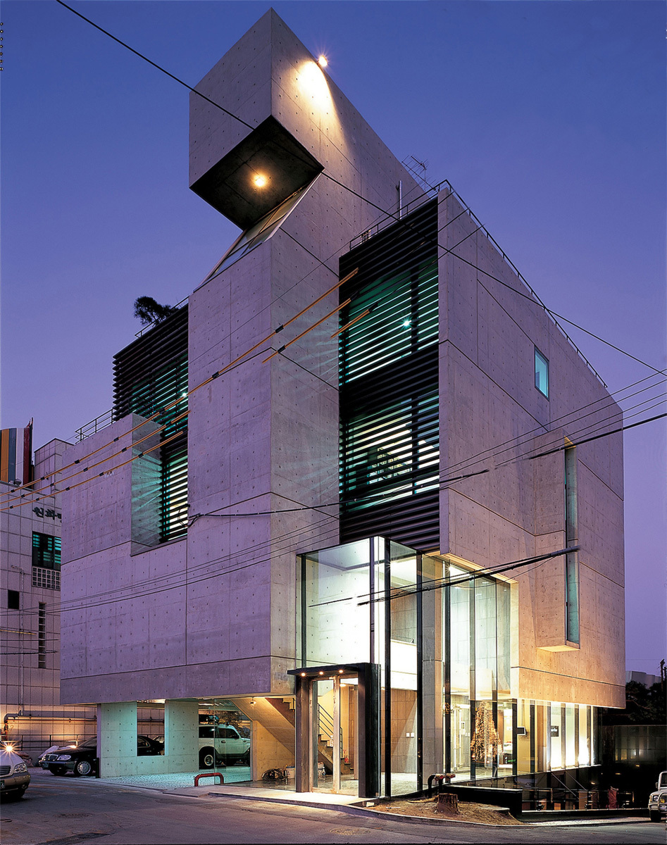 U-gallery in Seoul, South Korea by Gideon Kwon