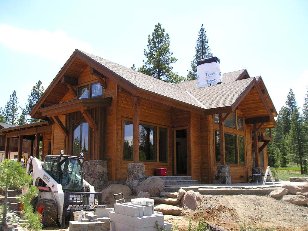 Timilick residence truckee california david d blay for Lake tahoe architecture firms