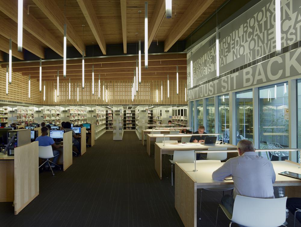 Rosa f keller library community center eskew dumez for Architecture firms