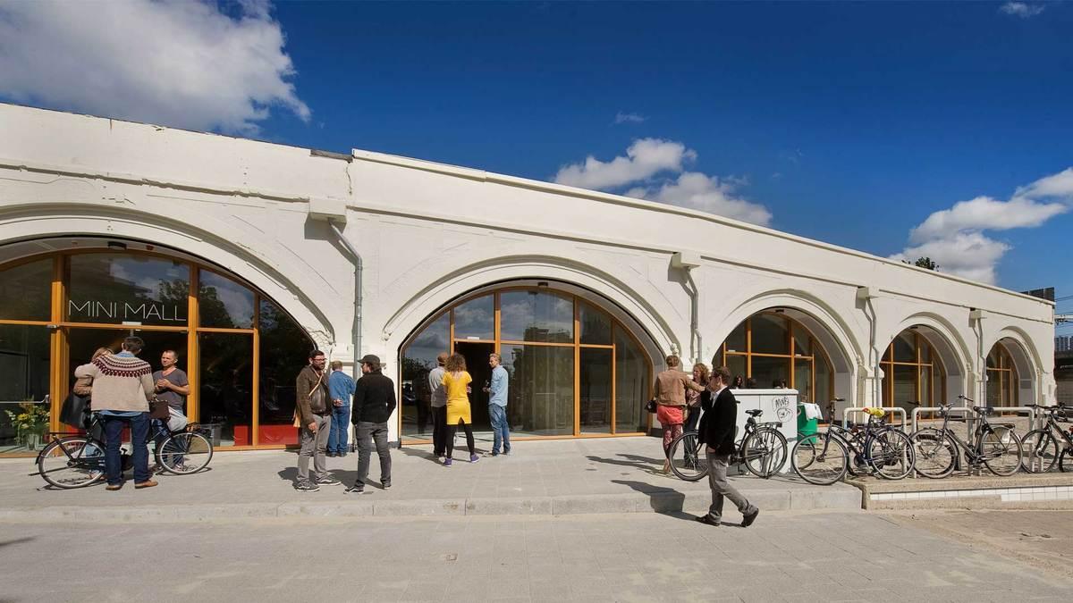 entrance after renovation