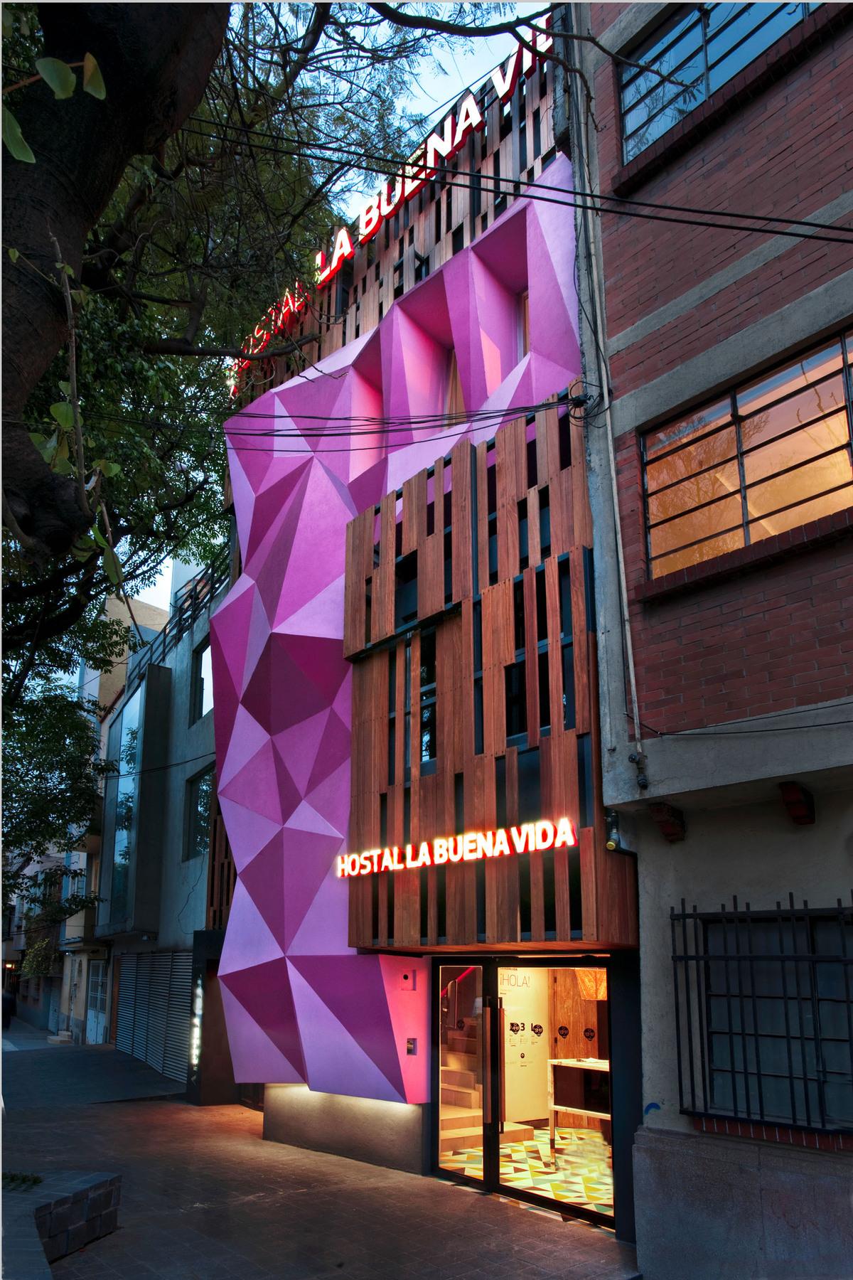 Hostal la buena vida arco arquitectura contempor nea for Arquitectura contemporanea