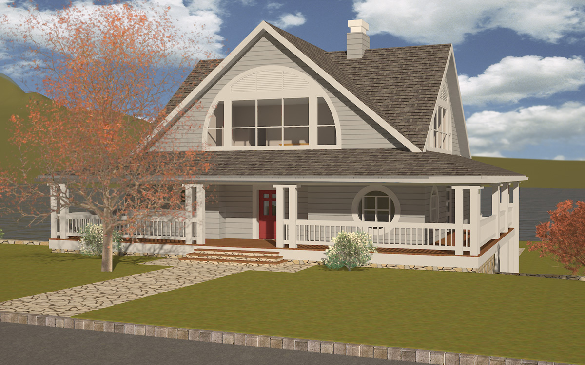 Country House Exterior 01