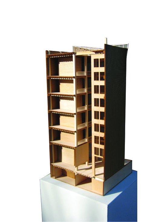 Sectional Model - Back