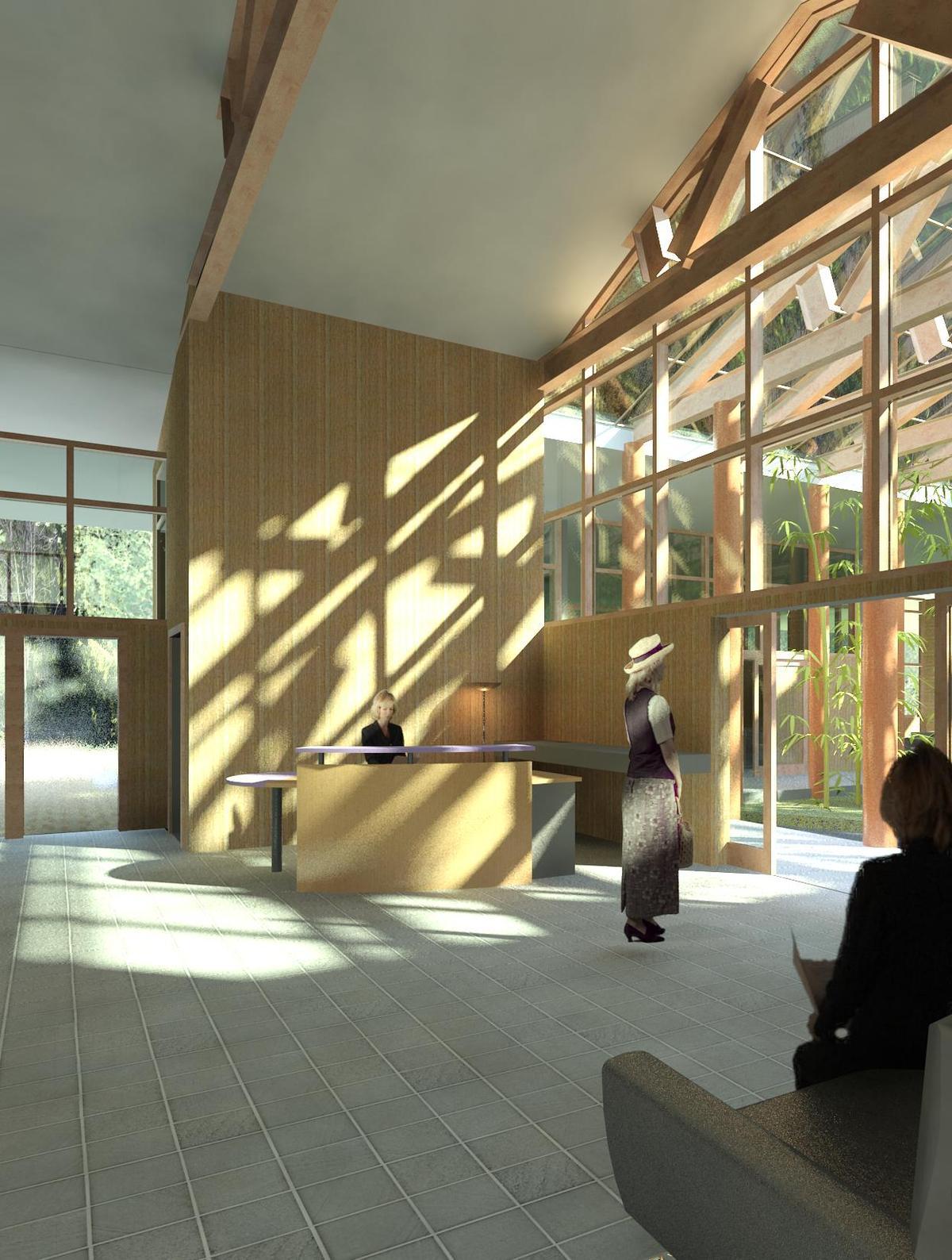 Tea Spa Lobby