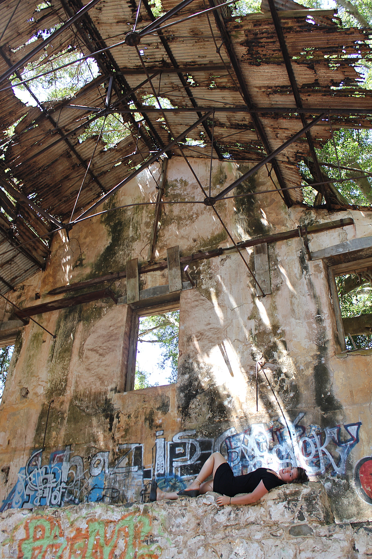 Abandoned sugar mill
