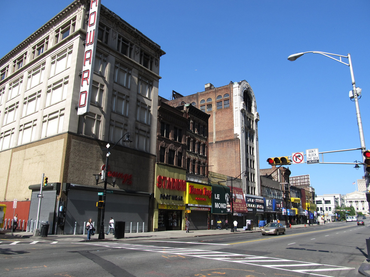 Downtown Newark, New Jersey. Image: Ken Lund via Flickr.