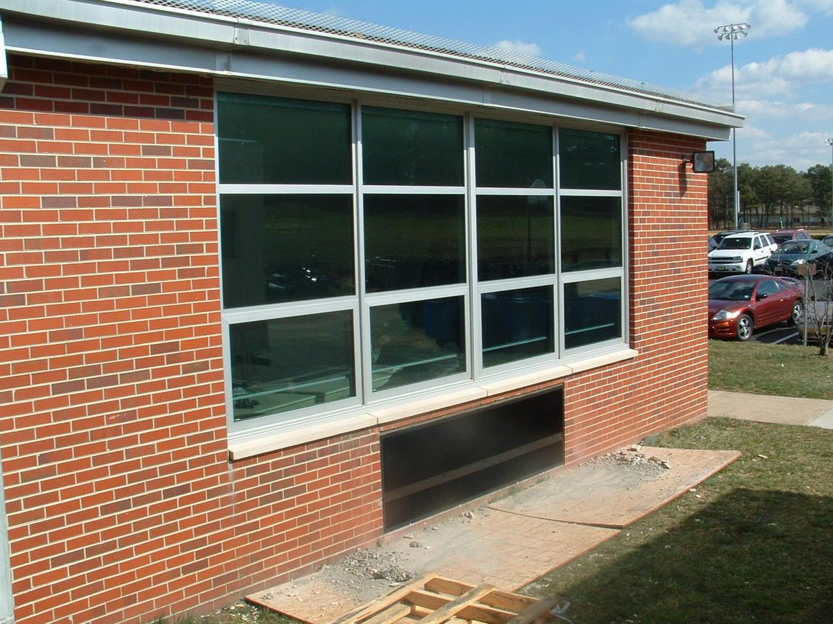 Classroom window - Classroom Window Install 4