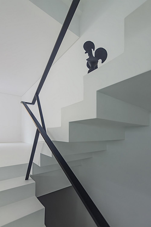 House Halffloors in Espinho, Portugal by 1+1 Arquitectos, Lda.; Team member: Pedro Brito
